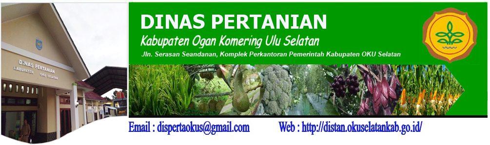 Portal Resmi Dinas Pertanian Pemerintah Kabupaten OKU Selatan
